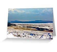 Winter on the North Yorks Moors Greeting Card