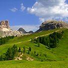 Morning in Dolomites by annalisa bianchetti