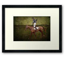 Saddle Sore Framed Print
