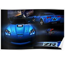 Chevrolet Corvette Supercharged ZR1 Poster