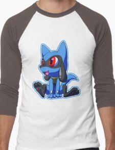 Sit, Riolu Men's Baseball ¾ T-Shirt