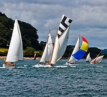 Falmouth Classics - running down to the Finish. by GBR309