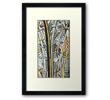 Roof at the Natural History Museum Oxford Framed Print