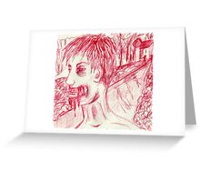 The Zombies are Coming! Greeting Card