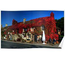 Crown Inn at Kelston nr Bath Poster