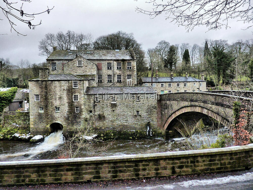 Yore  Mill . by Lilian Marshall