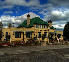 Jubilee Inn, East Anstey, Somerset by Rob Hawkins