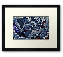 Around The Universe In Eighty Days Framed Print