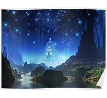 Crystalline City of Alumina Poster