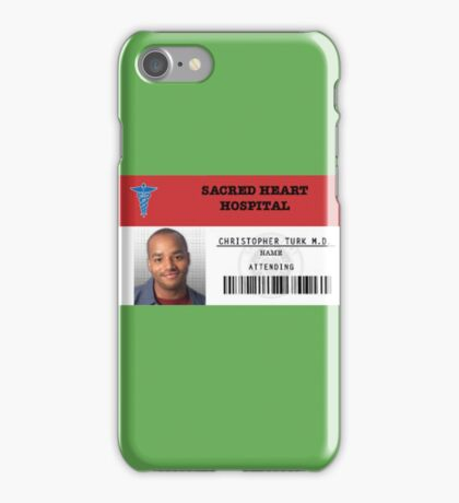 Christopher Turk - Scrubs MD iPhone Case/Skin