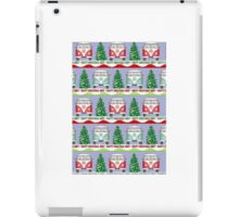 Split screen Xmas iPad Case/Skin