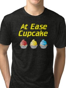 At Ease Cupcake Tri-blend T-Shirt