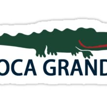 Boca Grande. Sticker