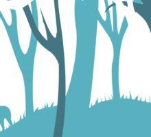 Mononoke and The Forest Spirit v.2 Sticker