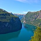  3411     series . Earth Wonders -  the Gerianger Fjord . Mre og Romsdal . Norway . by Brown Sugar. 17 Views: 3411 .This image Has Been S O L D . Thanks friends ! Thx !. by AndGoszcz