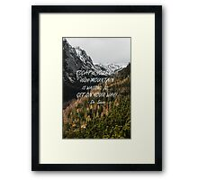 Today is your day Framed Print