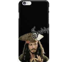 "Jack Sparrow say ""Savvy?"" iPhone Case/Skin"