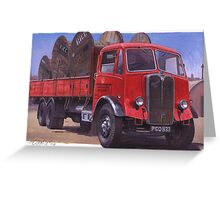 Maudslay Post Office Supplies. Greeting Card