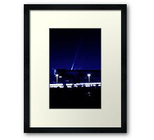 Mysterious night Framed Print