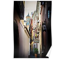 Streets of Seville  Poster