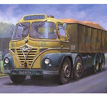 Foden S21 Midland Gravel by Mike Jeffries