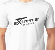 Extreme ironing (black) Unisex T-Shirt