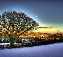 Winters Hill by Parnellpictures