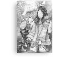 Sedna - the Inuit Sea Goddess Canvas Print