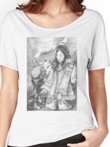 Sedna - the Inuit Sea Goddess Women's Relaxed Fit T-Shirt
