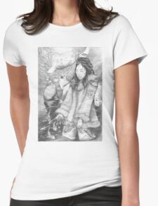Sedna - the Inuit Sea Goddess Womens Fitted T-Shirt