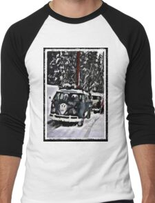 vw Snow convoy Men's Baseball ¾ T-Shirt