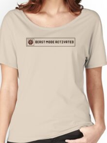 Beast Mode Activated Women's Relaxed Fit T-Shirt
