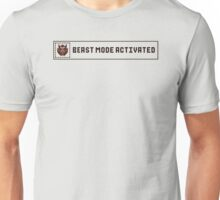 Beast Mode Activated Unisex T-Shirt