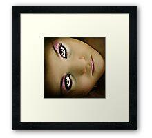 Momma's Makeup: Framed Print