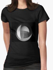 Grain geo Womens Fitted T-Shirt
