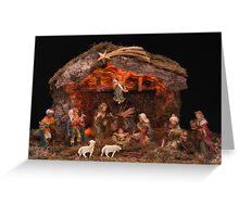 Christmas Nativity Scene Greeting Card