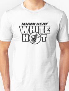 Miami Heat White Hot T-Shirt