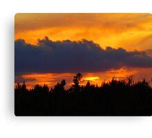 saturday sunset Canvas Print
