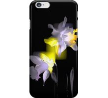 Cubist Daffodils iPhone Case/Skin