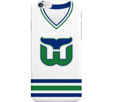 Hartford Whalers 1985-92 Home Jersey iPhone Case/Skin