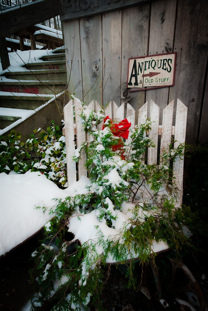 Antiques & Old Stuff for Christmas by Jeanne Sheridan