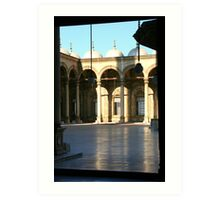 Courtyard of the Mosque of Mohammed Ali Art Print