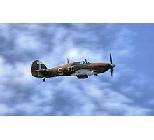 Battle of Britain Memorial flight Hurricane PZ865 (Mk IIc) Photographic Print