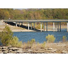 bridge over proctor lake Photographic Print
