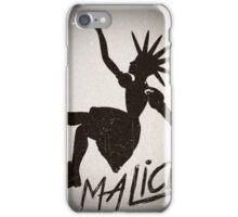 Vintage Malice Logo iPhone Case/Skin