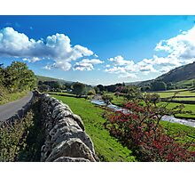 Littondale!! Photographic Print