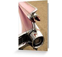 Big taillight Greeting Card
