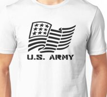 U.S. ARMY MILITARY AMERICAN FLAG SOLDIER Unisex T-Shirt