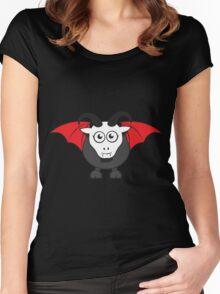 Vampire Grover Goat Women's Fitted Scoop T-Shirt