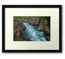 Waterfall in Iceland Framed Print